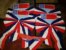 """Lot of 4 4th of July Outdoor Bow Memorial Veterans Day USA American 10"""""""