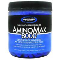 Gaspari AminoMax 8000 Amino Acids for Muscle Size Strength Endurance - 325 tabs