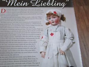 11pg Kammer & Reinhardt Mein Liebling Doll History Article / Samy Odin