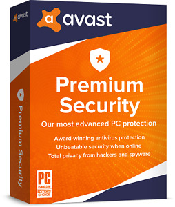 AVAST PREMIUM SECURITY 2020 - FOR 10 DEVICES - 1 YEAR - DOWNLOAD