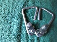 2 bowflex power rod cable attachment hooks