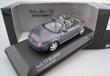 Audi TT Roadster 1999 Dolomitgrau Perleffekt Minichamps Limitiert 1:43  OVP NEU