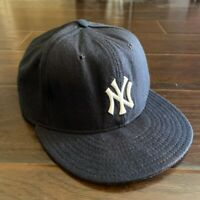 Vintage MLB New York Yankees Fitted Size 7 1/2 Made in USA Diamond Collection