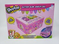 Shopkins Glittery Glam Jewelry Box - New