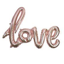 ROSE GOLD LOVE BALLOON - Wedding, Venue Deco, Party Decoration, Foil Balloon