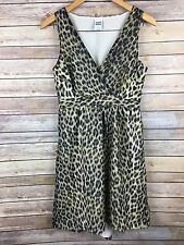 Vero Mode Womens Dress Leopard Mei Tira Sleeveless Romantic Hi Low Sundress