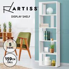 Artiss Display Shelf Shelves 5 Tier Storage Bookshelf Bookcase Ladder Stand Rack