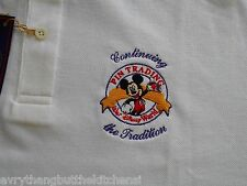 DISNEY PIN TRADING POLO SHIRT CONTINUING THE TRADITION EMBROIDERED NWT SZ MED