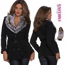 Regular Basic Coats & Jackets of Rayon for Women