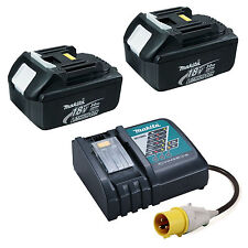 MAKITA LXT 110V DC18RC CHARGER WITH 2 x BL1830 BATTERIES