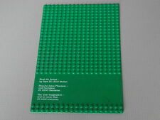 Placa base Lego 19 X 32 Tachas Verde-Raro Legoland Billund concurso
