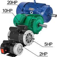 "Electric Motor 1~20HP 1Phase/3Phase 5/8""shaft Genaral Rigid base Outdoors 256T"