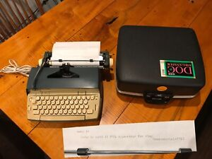 Smith-Corona Coronet electric typewriter PICA font Works perfectly 1 Owner VTG
