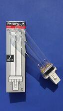 Philips UVC Ersatzlampe 5 , 7, 9, 11, 18, 24, 36, 55 Watt 2G11 oder G23 z.B Oase