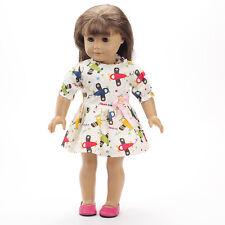 2016 cute Handmade clothes dress for 18inch American girl doll b172