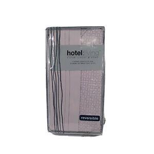 Hotel Living Queen Twilight Pink Reversible 500 Thread Count Sateen Pillow Sham