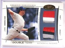2004 Hot Prospects Greg Maddux Double Jersey Patch Team #D46/50 #DTGM *55357