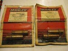 NEW MANLEY Harley 74, (4) BRONZE EXH. Valve Guides .002 O.D. #99132