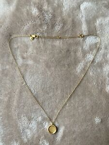 Madewell Gold Coin Necklace