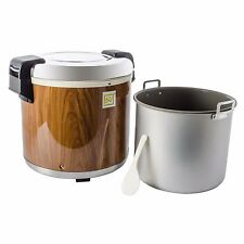 Thunder Group - Sej21000 - 50 Cup Wood Grain Rice Warmer