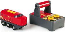 Brio REMOTE CONTROL ENGINE Toddler Nursery Toy Railway Train Play Time Gift BN