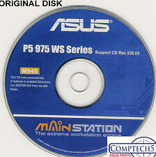 ASUS GENUINE VINTAGE ORIGINAL DISK FOR P5W64 WS PRO Motherboard Disk M945