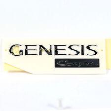 "Chrome Rear Trunk Logo Emblem ""GENESIS Coupe"" for 08~12 Genesis Coupe"