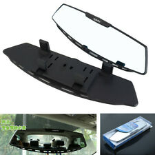 1x Panoramic 305MM Wide Convex Interior Clip-on Rear View Mirror For Car Truck