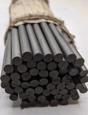 Graphite Rod 99.9% Carbon Rod, Graphite Electrode 20pcs 1/4''x10 ''6x250mm