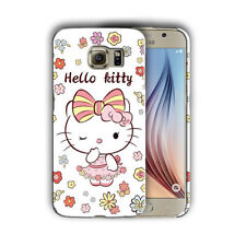 Hello Kitty Samsung Galaxy S4 5 6 7 8 9 10 E Edge Note 3 - 10 Plus Case 03