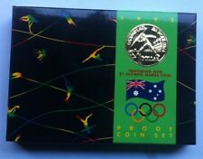 1992 AUST PROOF SET OF 6  COINS THEME: BARCELONA GAMES