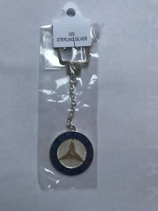 Mercedes-Benz Cable Keyring / Keychain (*All Sterling Silver 925)