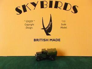 Skybirds Models.  Humber 8cwt Light Truck.