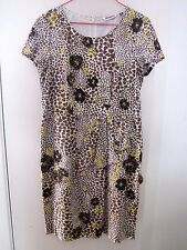 BEAUTIFUL COTTON DRESS WITH POLYESTER LINING, SIZE 12, BY KAISER