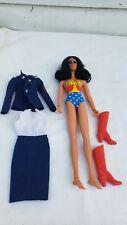 "Vintage 1976 Mego DC Comics Super Hero Wonder Woman 12"" Doll + clothes"