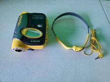 Sony Sports Walkman WM-FS593 Personal Cassette Player AM FM Radio Works Great