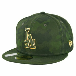 "New Era 5950 Los Angeles Dodgers ""Armed Forces Memorial Day"" Fitted Hat Mens Cap"