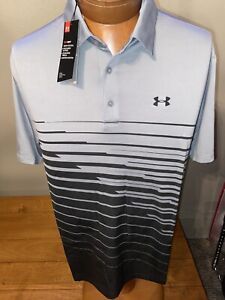 NWT UNDER ARMOUR GOLF THE PLAYOFF POLO SHIRT SIZE LARGE 1327037-039 $65