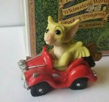 """""""Varoom"""" Whimsical World of Pocket Dragons by Real Musgrave with box"""