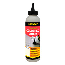 Dunlop 800g Ready-To-Go Coloured Grout - White
