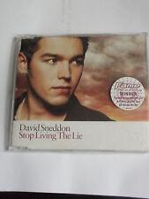 David Sneddon CD single Stop Living the Lie