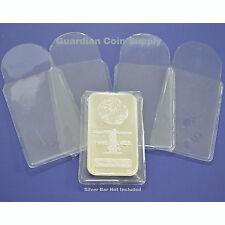 10 Vinyl Sleeves Holders for 1 oz Silver or Gold Bars or Ingots