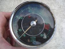 PORSCHE 356 A B VDO TACH TACHOMETER GAUGE 356A 356B SUPER S