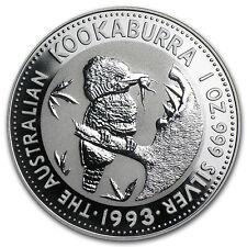 1993 Australia 1 oz Silver Kookaburra BU - SKU #10158
