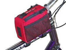 Bushwhacker Top Tube Red Bike Frame Bag Bicycle Crossbar Cycling Handlebar Pack