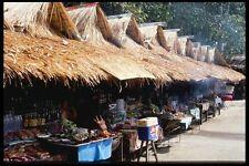 147060 Chiang Mai Mae Sa Falls Food Stalls A4 Photo Print