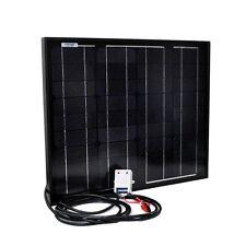 30 Watt 12V Mono-Crystalline Solar Panel with  12v Charger Controller