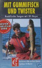 VHS-Video: Mit Gummifisch und Twister. Raubfische fangen mit Uli Beyer. Blinker