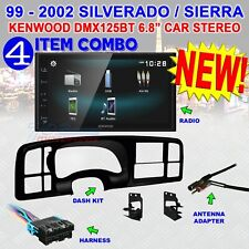 1999-2002 SILVERADO SIERRA KENWOOD BLUETOOTH USB SCREEN MIRRORCAST STEREO RADIO