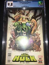Totally Awesome Hulk #5 Cgc 9.8 - Frank Cho Enchantress Beautiful Cover - 2016
